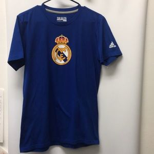 Adidas Real Madrid t-Shirt tee size small